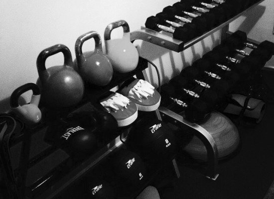 Kettle bells & Dumbbells