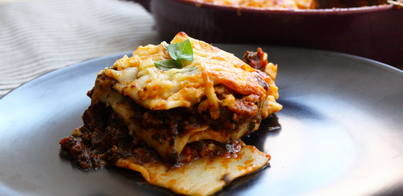 Low Carb Lasagne (Gluten Free)